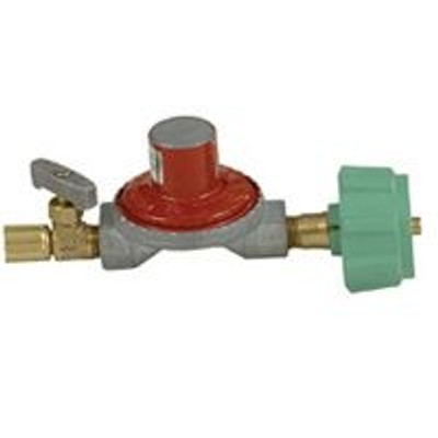 "LP Gas Regulator/Control, POL x 1/4"" FPT, 10 - 15 PSI Output"