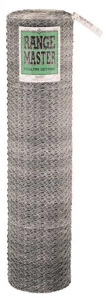 "Poultry Netting 2"" x  24"" x 150', Galvanized"