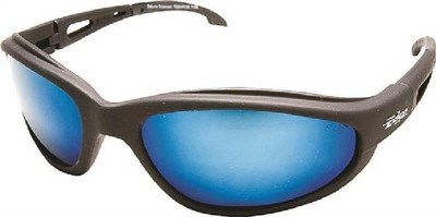 Safety Glasses, Aqua Precision Blue Mirror Scratch Resistant Lens
