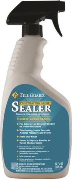 Tile & Grout Sealer, Trigger Spray Bottle, 22 Oz