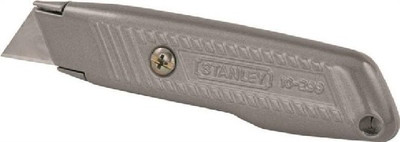 Utility Knife, Gray Contoured, High Carbon Steel