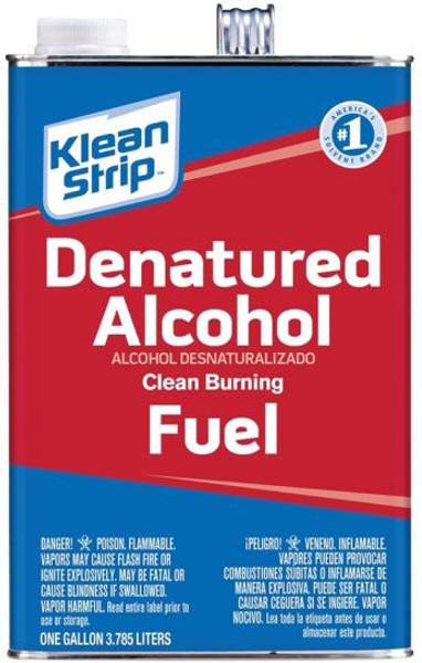Denatured Alcohol, 1 Gallon