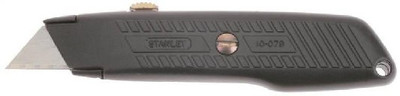 Stanley Tools, Retractable Blade Utility Knife, With 3 Blades