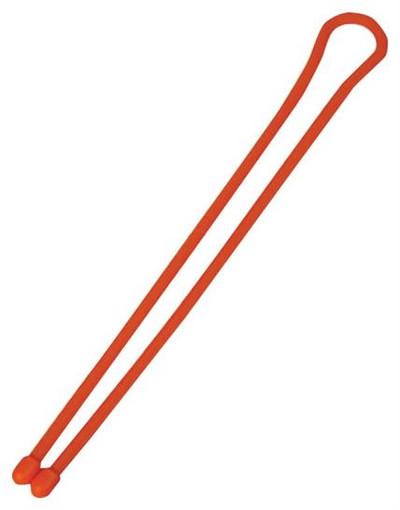 """Gear Tie, Reusable Twist Tie, 12"""", Orange, 2 Pack"""