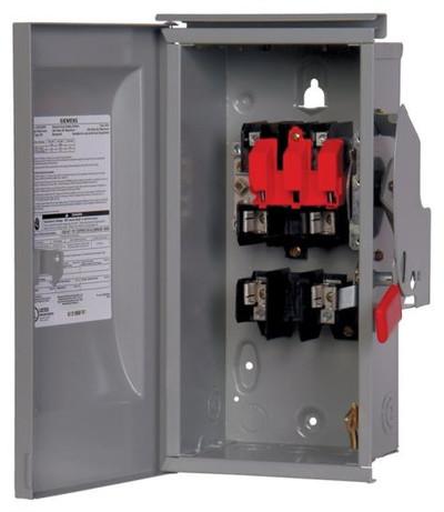 Siemens, Service Interruptor Switch, 30 Amp, 240 VAC, 2 Pole