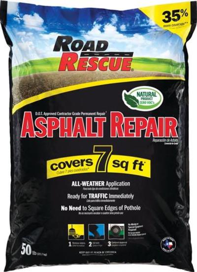 Asphalt/Blacktop Patch, 50 Lb Bag