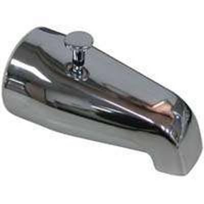 Bath Tub Chrome Spout With Diverter