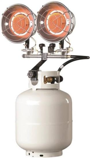 Propane Radiant Heater >> Propane Radiant Heater Double Head Surry General Store