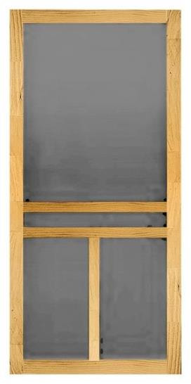 Wood Screen Door Clear Pine Unfinished 30 X 80 X 1 18 Surry