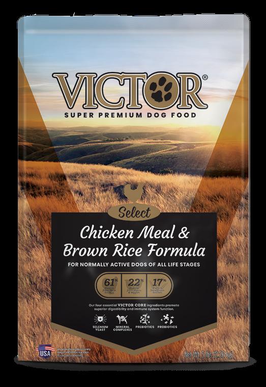 Victor Chicken & Brown Rice 5LB