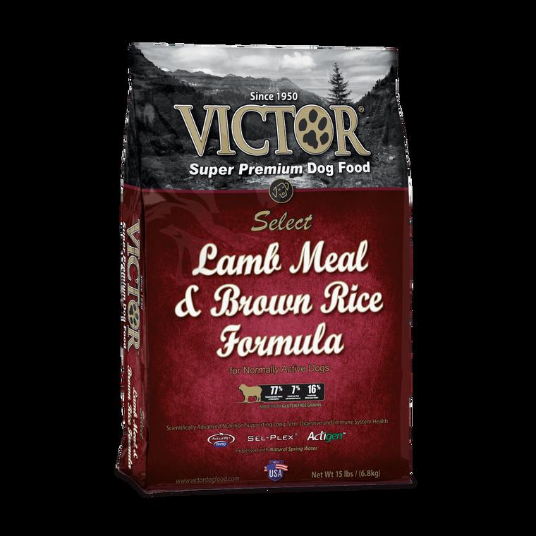 Victor Lamb & Brown Rice 15LB