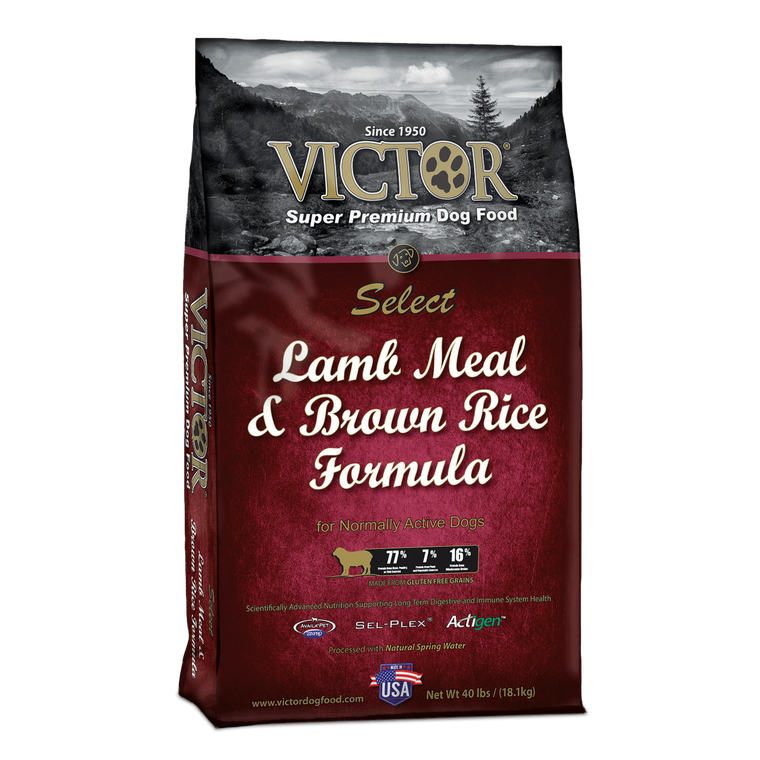 Victor Lamb & Brown Rice 40LB