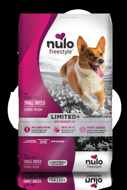 Nulo Limited Grain Free SB Turkey 10 LB