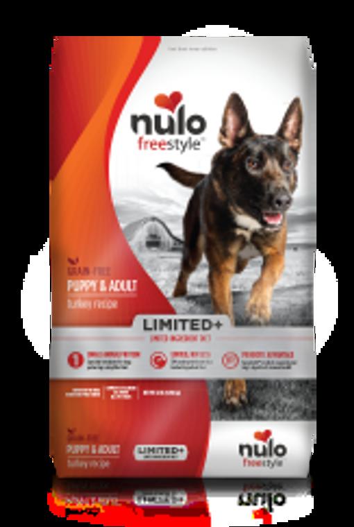 Nulo Limited Grain Free Turkey 22 LB