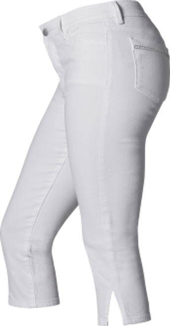 Anna Montana cropped White Skinny jean