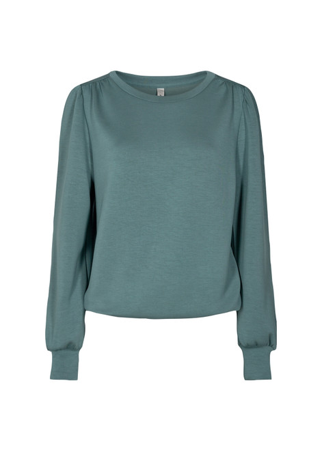 Soya concept Ultra soft puff sleeve top