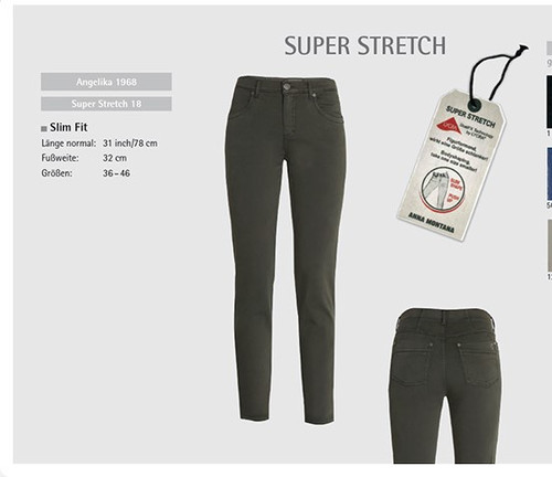 Anna Montana Super Stretch Jean
