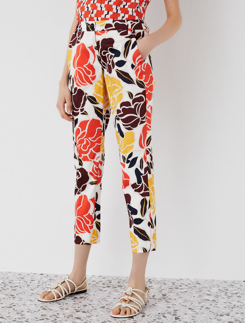 Emme Aedo Tropical printed Trousers