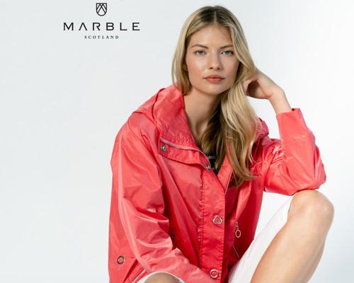 Marble Lotti  Oversized hooded Jacket.