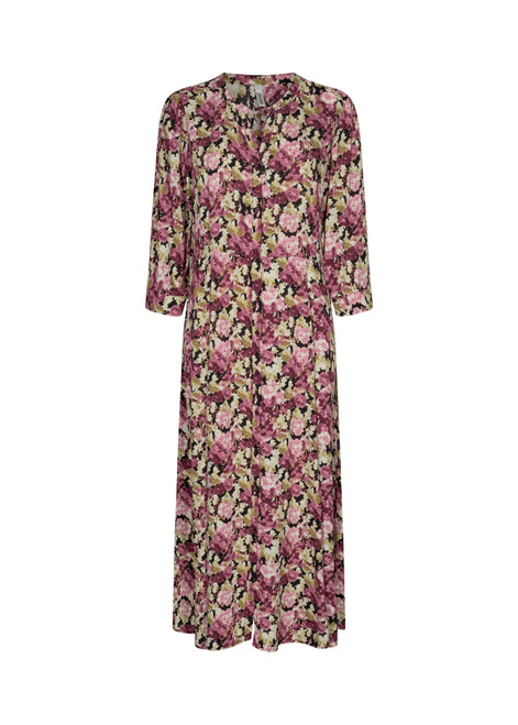 Soya concept floral pinks midi dress
