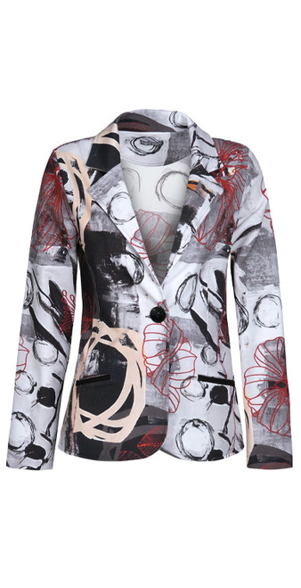 Dolcezza Abstract print blazers
