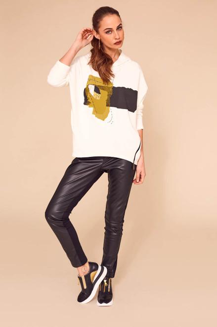 Naya leatherette leggings