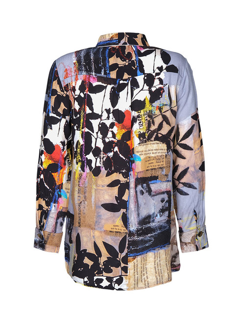Dolcezza floral print blouse.