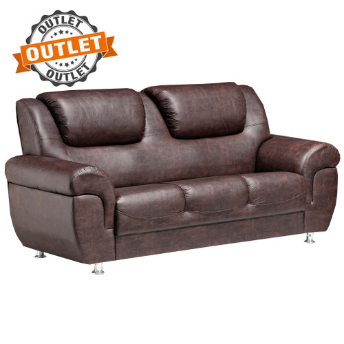 Outlet Sillon Sofa Mexico 3 Cuerpos