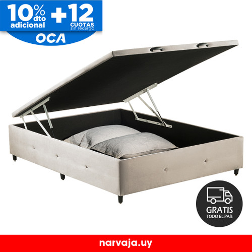 BOX Baúl 2 Plazas Beige
