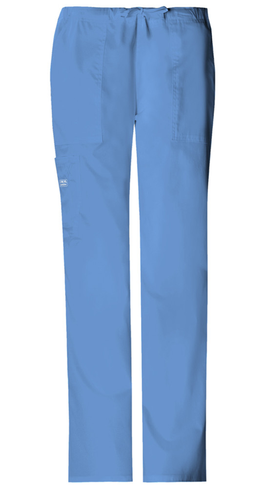 c12583d1e85 Cherokee Workwear Core Stretch Mid-Rise Drawstring Cargo Pant - Care ...