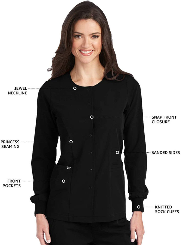 Grey's Anatomy Sinature Women's 2407 Super-Soft Medical Scrub Jacket