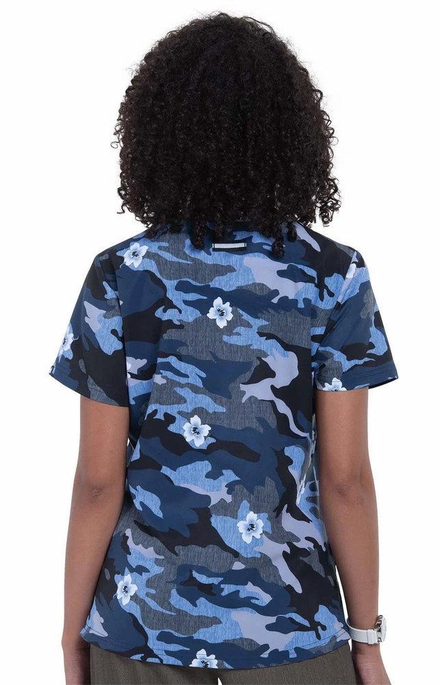 Koi Rest Less Camo Floral