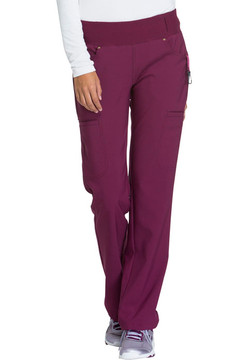Women's Cherokee iFlex Mid Rise Pull-on Pant