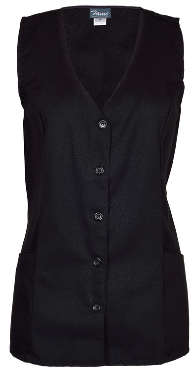 Fame V-93 2 Pocket Female Tunic Volunteer Vest (4 Color Options)