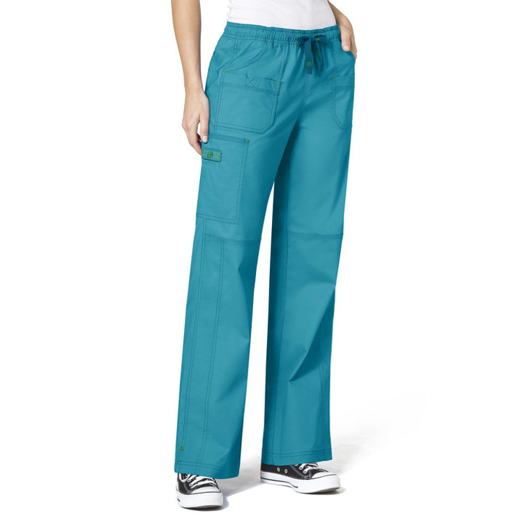 WonderWink Wonderflex Faith Multi-Pocket Cargo Women's Pant (29 Color Options)