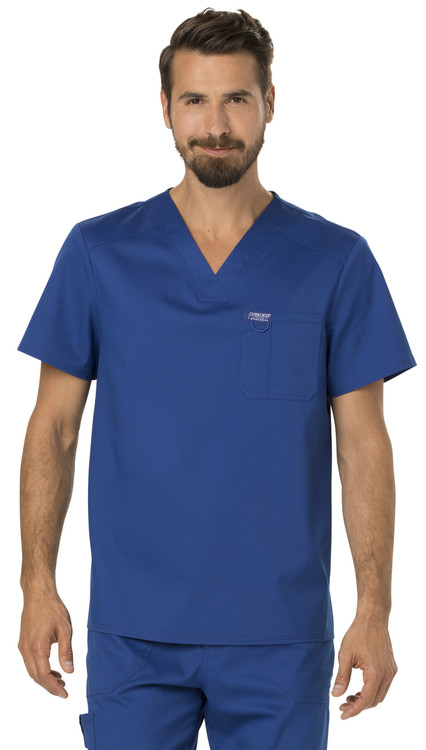 Cherokee Revolution Men's V-Neck Scrub Top (WW690)