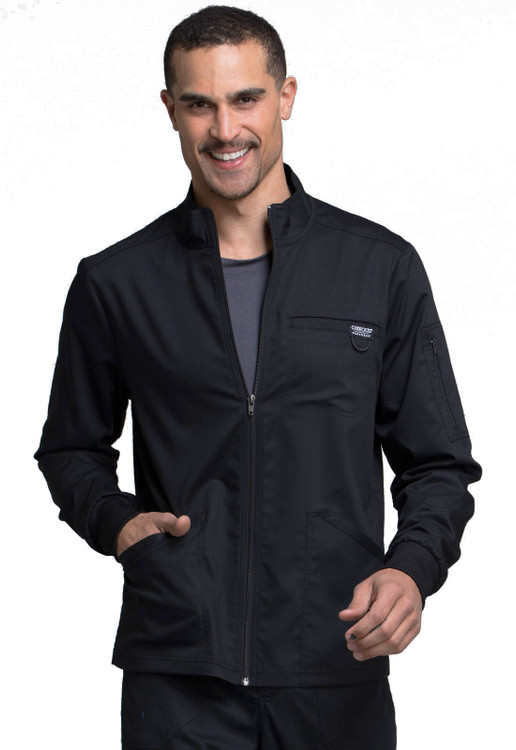 Cherokee Revolution Men's Zip Front Jacket WW320