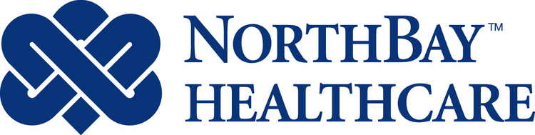 NorthBay Healthcare logo embroidery