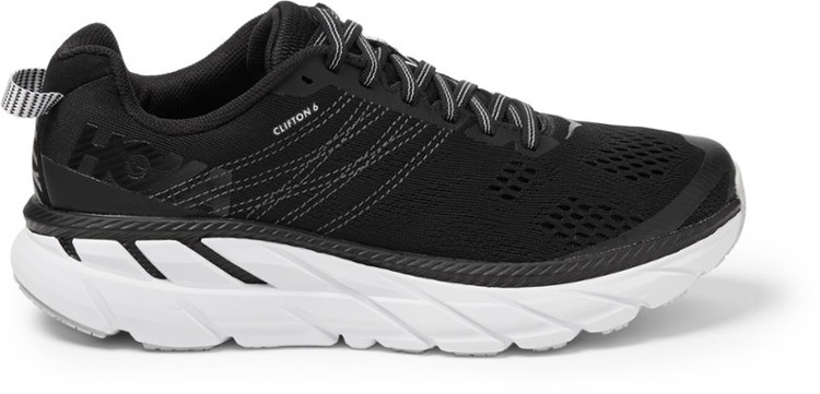 Hoka Men's Clifton 6 Black White