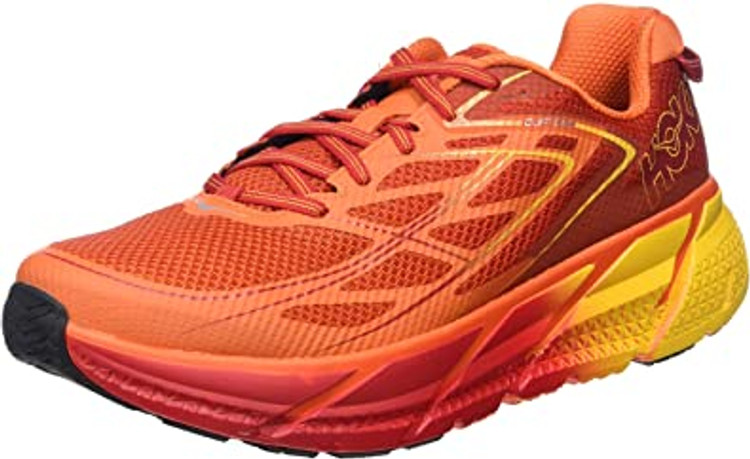 Hoka Men's Clifton 3 Red Formula One Gold