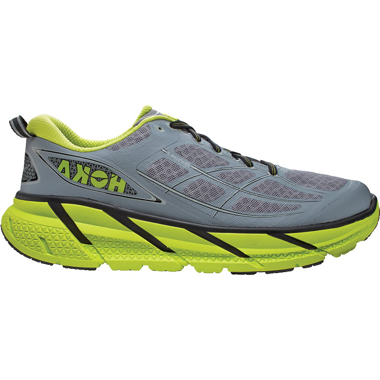 Hoka Men's Clifton 2 Grey Acid
