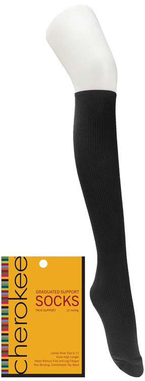 Cherokee Knee High Compression Socks (8 - 12 MmGH)