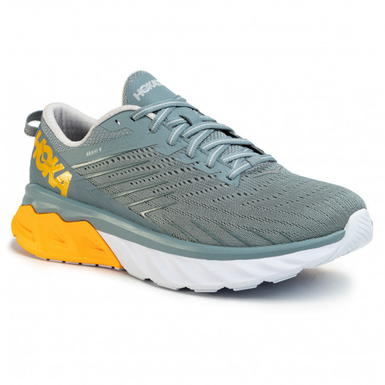 Hoka Men's Arahi 4 Lead Lunar Rock