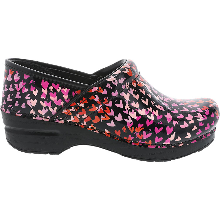 Dansko Hearts Patent Tiny