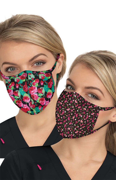 Betsey Johnson Printed Face Masks (2 Quantity)
