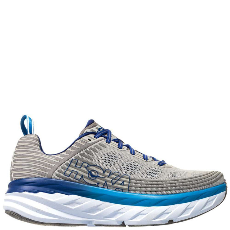 Hoka Men's Bondi 6 Vapor Blue Frost Gray