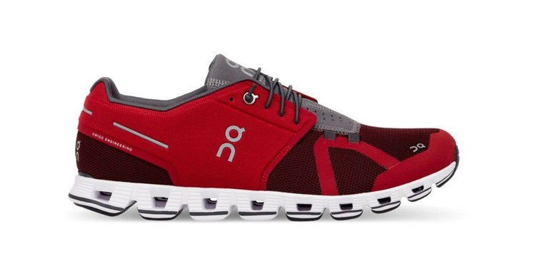 On Running Men's Cloud Red Onyx