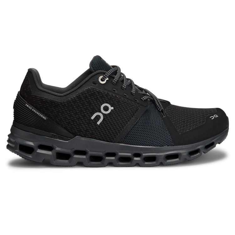 On Running Women's Cloud Stratus Black Shadow