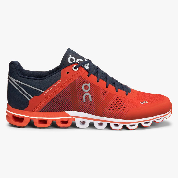 On Running Women's Cloud Flow Crimson Midnight