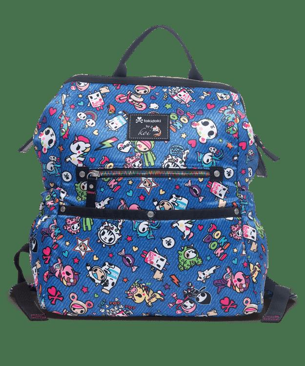 TokiDoki Backpack Denim Dazed